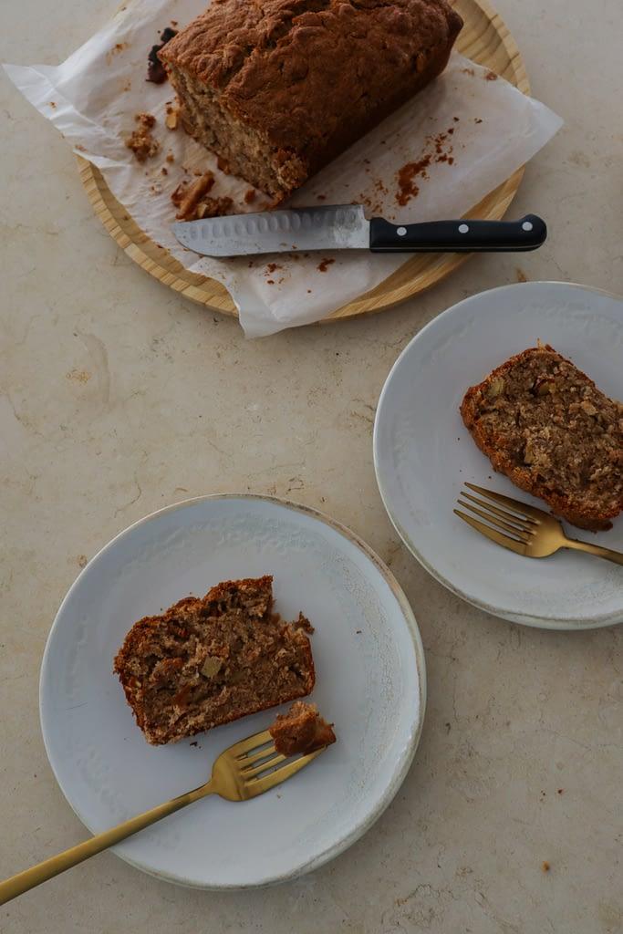 Almond Butter Banana Cake from Dessert Person Cookbook