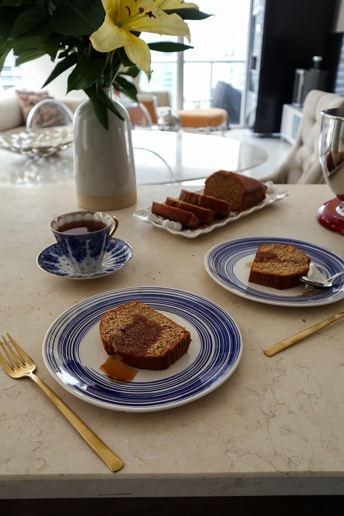 Spiced Honey and Rye Cake